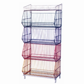 Wire Basket Rack (5 Layers)