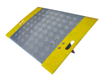 High Traction Aluminum Dock Plate